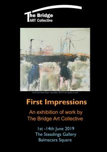 'First Impressions' ExhibitionJune 2019